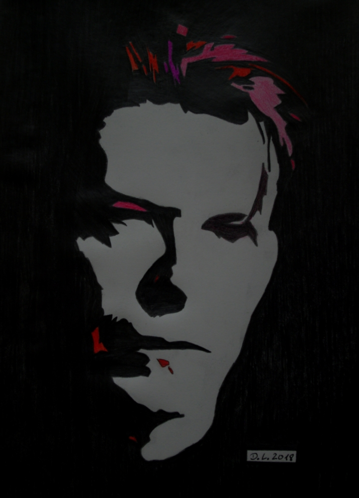 David Bowie par HamburgGirl